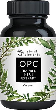 OPC Traubenkernextrakt - 240 Kapseln für 8 Monate - Laborgeprüftes Premium OPC aus europäischen Weintrauben - Ohne unerwünschte Zusätze - Hochdosiert, vegan und hergestellt in Deutschland