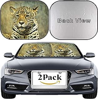 MSD Car Windshield Sun Shade, Universal Fit 2-Piece Foldable Car Sunshade, Block Sun Glare, UV and Heat, Sun Visor, Image ID: 29507669 Jaguar