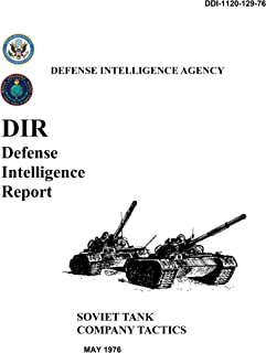 Soviet Tank Company Tactics: Defense Intelligence Report