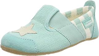Living Kitzbühel 中性儿童 T 型条纹和星星低帮拖鞋