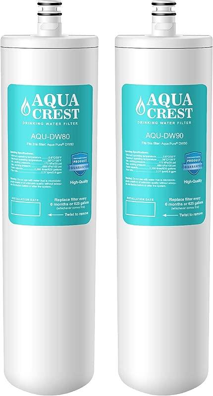 AQUACREST DW80 90 Under Sink Water Filter Compatible With Aqua Pure AP DW80 90 Kohler K 201 NA Kohler K 202 NA Pack Of 2