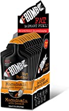 FBOMB Nut Butter 10 Pack: All-Natural Energy, Keto Fat Bombs   High Fat, Low Carb Snack, for On-The-Go Energy   Paleo, Vegetarian, Keto Snacks   Macadamia & Coconut - 1 oz Packets