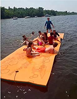 Maui Mat (by Aqua Lily Products: Floating Foam Fun Pad Designed for Water Recreation and Relaxing (14ft)
