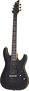 Best Schecter 6 String Solid-Body Electric Guitar, Aged Black Satin (3660) Review