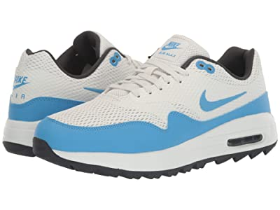 Nike Golf Air Max 1G (Summit White/University Blue/Anthracite) Men