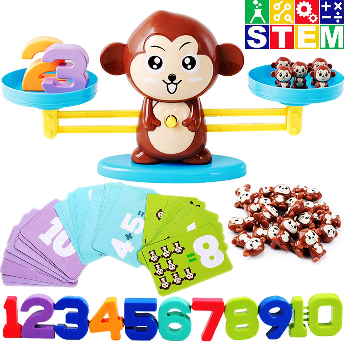 CozyBomB Monkey Balance Counting Games