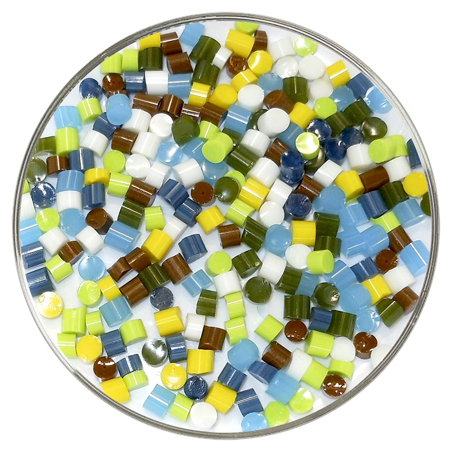 Child's Play Designer Fusible Glass Dot Mix - 90COE - 1oz - Made From Bullseye Glass