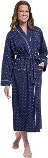 PajamaGram Long Women's Cotton Robes - Soft Robe Womens