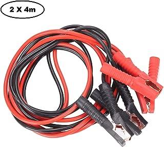 JUEYAN® 2x4m Cables de Arranque para Batería