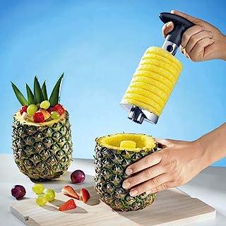 ACONDE - Cortador de piña, reforzado, hoja más gruesa, cortador de piñas, herramienta de extracción de núcleo de piña de acero inoxidable