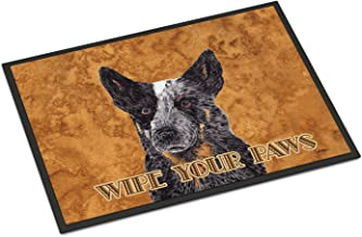 "Caroline's Treasures Australian Cattle Dog Indoor or Outdoor Doormat, Multicolor, 24"" x 36"""