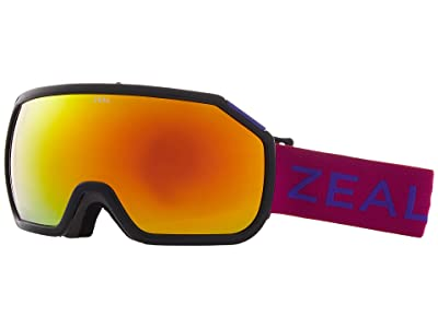 Zeal Optics Fargo (Boysenberry w/ Phoenix Mirror Lens) Goggles
