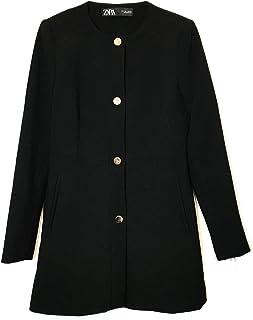 33c588af Zara Women's Snap-Button Frock Coat 2140/349