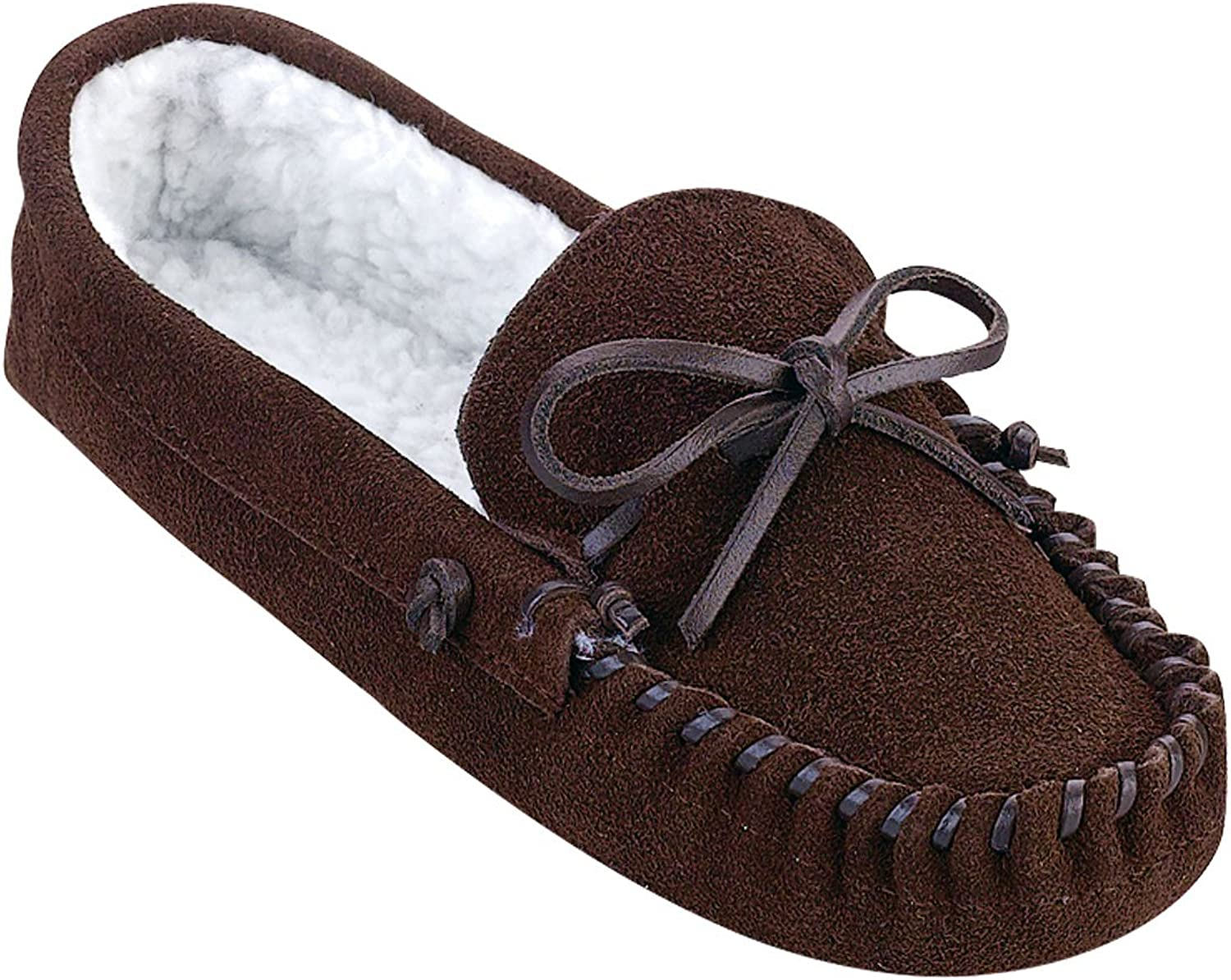 Carol Wright Gifts Ranking TOP1 Max 48% OFF Men's Leather Slippers 8 Brown Size