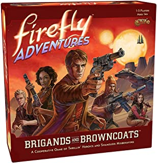 Gale Force Nine- Nein Firefly Adventures: Brigands y Browncoats, Juego, Multicolor (FADV01)