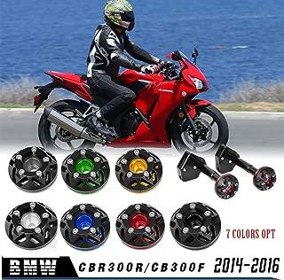Motorrad Stahl Autobahn Motorschutz Sturzb/ügel Ladekantenschutz for Kawasaki VERSYS650 KLE650 2015 2016 2017 Schwarz
