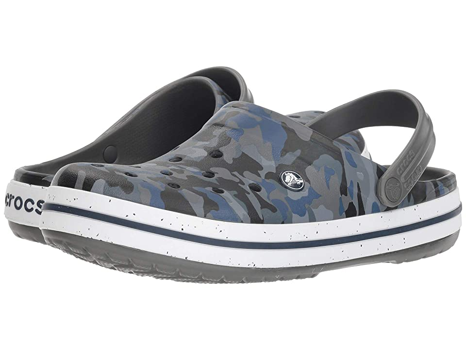 Crocs Crocband Graphic III Clog (Camo/Slate Grey) Shoes