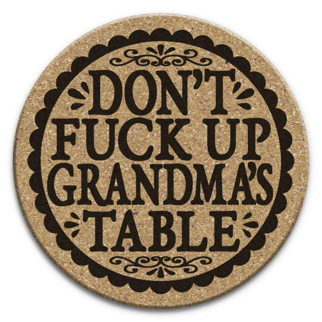 Don't Fuck All items in the store Up Grandma's Coaster San Francisco Mall Gift 4pc Table