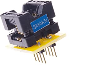 SMAKN SO8 SOP8 to DIP8 Programmer adapter Socket Converter for Wide 150mil