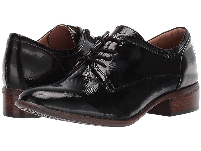 60s Shoes, Boots | 70s Shoes, Platforms, Boots Sofft Sweden Black Charme Lux Patent Womens Shoes $109.95 AT vintagedancer.com