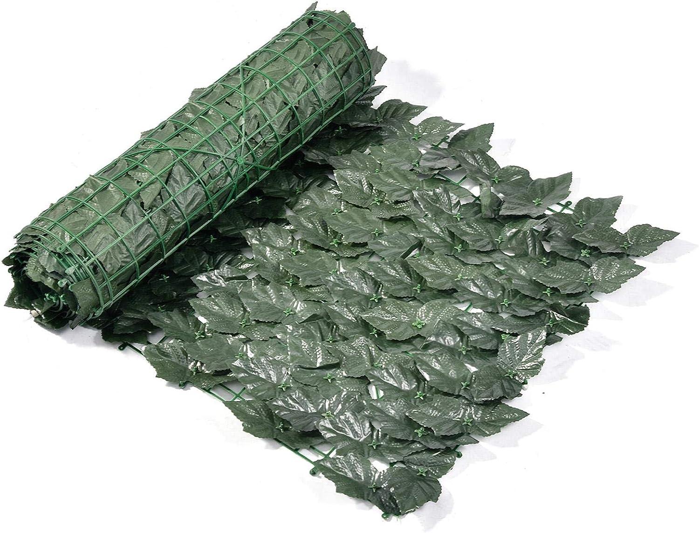 Famtasme Artificial Direct sale of manufacturer Grape Leaf Screening shop Hedge Green