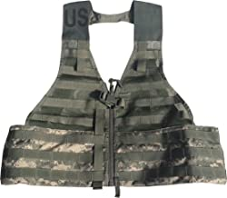 SDS Official US Military MOLLE II Army ACU FLC Fighting Tactical Assault Vest Carrier