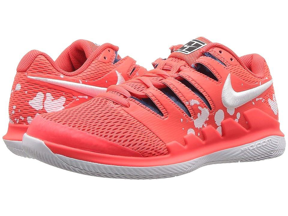 Nike Air Zoom Vapor X (Bright Crimson/White/Industrial Blue) Women
