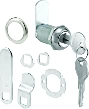 """Defender Security U 9945 Cabinet Lock Secure Important Files and Drawers, 1 1/8"""", Diecast Stainless Steel, Fits on 13/16"""" Max Panel Thickness, Pack of 1"""