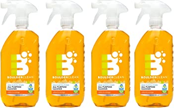 Boulder Clean All-Purpose Cleaner, Valencia Orange, 28 Ounce (Pack of 4)