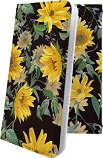 ZenFone4 Selfie ZD553KL ケース 手帳型 ひまわり 向日葵 葉っぱ 花柄 花 フラワー ゼンフォン4 ゼンフォーン4 マックス 手帳型ケース 和柄 和風 日本 japan 和 zenfone 4 おしゃれ