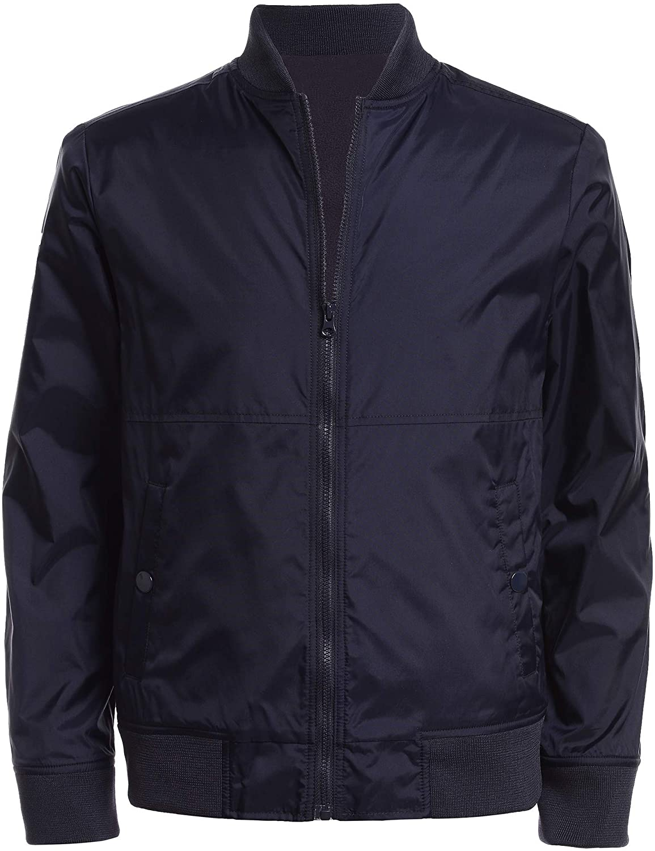 Boys Bomber Jacket Flight Jackets Lightweight Varsity Jacket