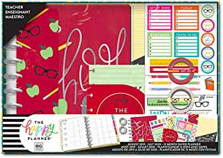 Me & My Big Ideas BOX204 Happy 12-Month Dated Medium Planner Box Kit-School Days, Teacher, Aug 2019-Jul 2020, Multi