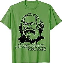 Karl Marx quote TShirt Tee Shirt T-Shirt