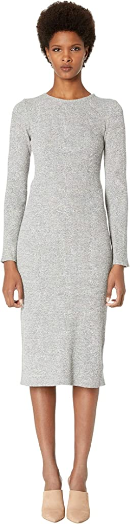 ca594b98393a Heather Grey. 33. Vince. Long Sleeve Rib Dress