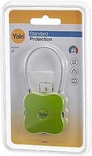 Yale Yuvarlak Köşeli Asma Kilit - Yeşil - YP4/41/350/1G