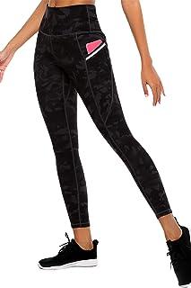 GRAT.UNIC Leggins Mujer de Yoga,Leggings Fitness,Mallas Deportivas de Mujer con Bolsillos Laterales, Polainas de Yoga Fitness