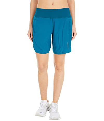 Brooks Chaser 7 Shorts (Deep Sea) Women