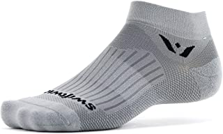 Swiftwick- Aspire ONE | Running & Cycling Ankle Socks | Fast Dry, Lightweight