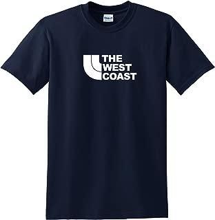 West Coast T-Shirt Northface Parody tee Nice Shirt