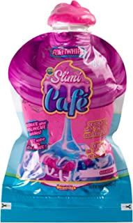 ORB 35782 Slimi Cafe Compound Fluffiwhipz Veriberry, Purple Slimy Icing Decoration Pack for Crushed Pastries, Toys for Ages 8 and up, Purple
