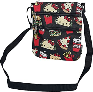 Loungefly Sanrio Hello Kitty Snacks AOP Nylon Reisepasstasche
