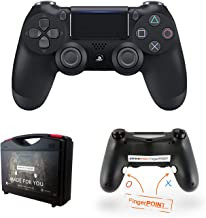 Kewecom - Mando a Distancia para Playstation 4 FingerPOINT Ps4 Scuf, Color Negro Mate