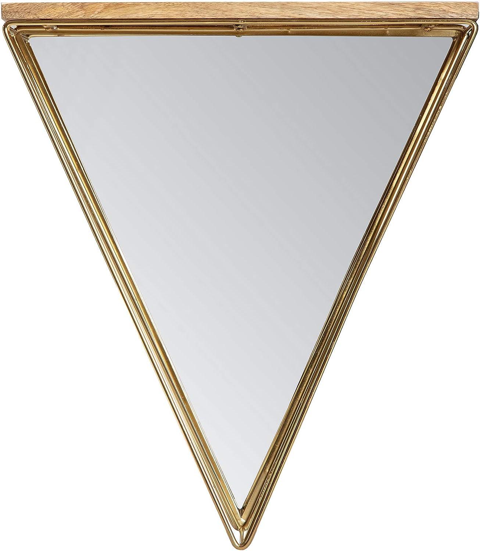 Some reservation Habitat Gatana Gold Triangle Portland Mall Shelf metallic Mirror
