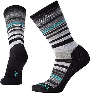 Smartwool PhD Outdoor Light Crew Socks - Women's Jovian Stripe Wool Performance Sock