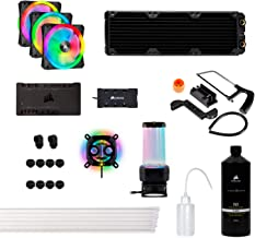 Corsair Hydro X Series XH305i Hardline Water Cooling Kit with/incl XC7 CPU Water Block, XR5 360mm Radiator, XD5 Pump Res a...