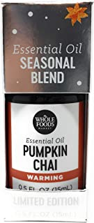Whole Foods Market, Essential Oil Blend Pumpkin Chai, 0.5 Ounce