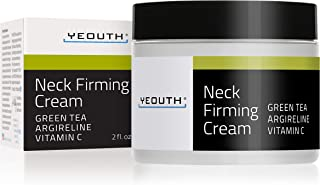 Crema reafirmante para el cuello YEOUTH Crema antiarrugas hidratante y antienvejecimiento Ayuda contra la barbilla doble...