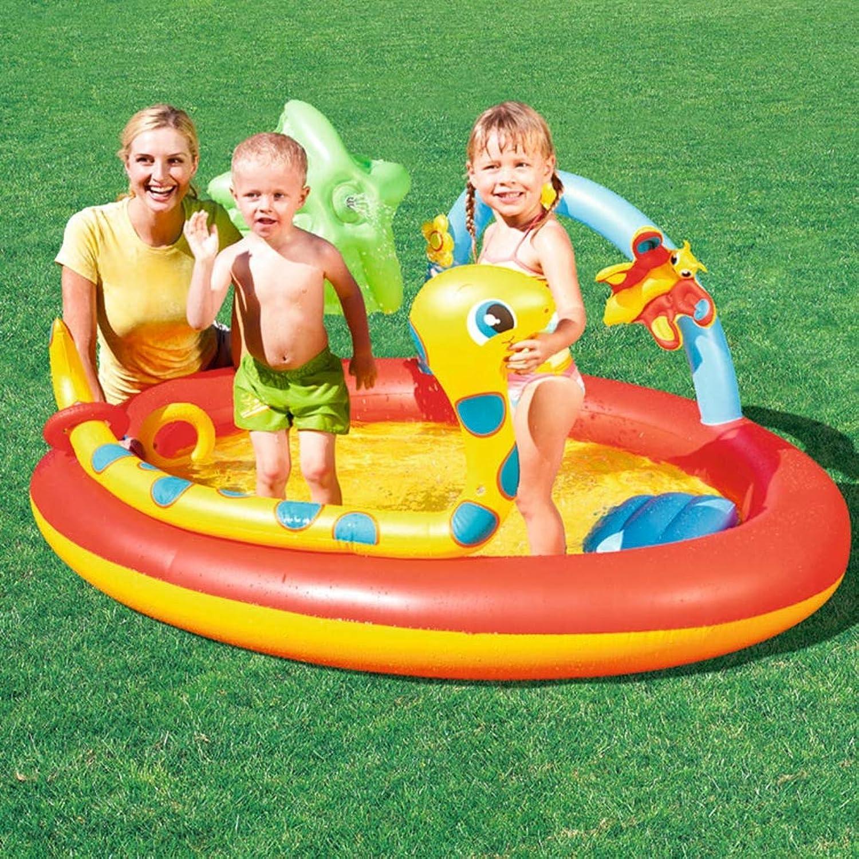 están haciendo actividades de descuento BABI Piscina Inflable Inflable Inflable Familiar del Centro de natación, 76 X 59  X 35 , Adecuada para Niños Mayores de 3 años  orden en línea