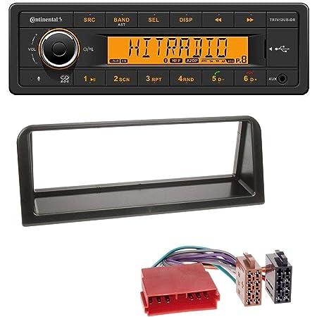 Caraudio24 Continental Tr7412ub Or Mp3 Bluetooth Aux Elektronik