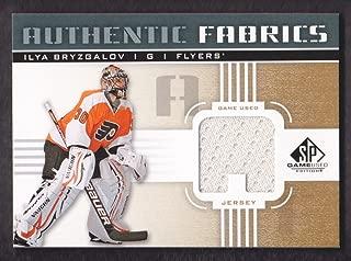 2011-12 SP Game Used Authentic Fabrics Gold #AF-IB Ilya Bryzgalov